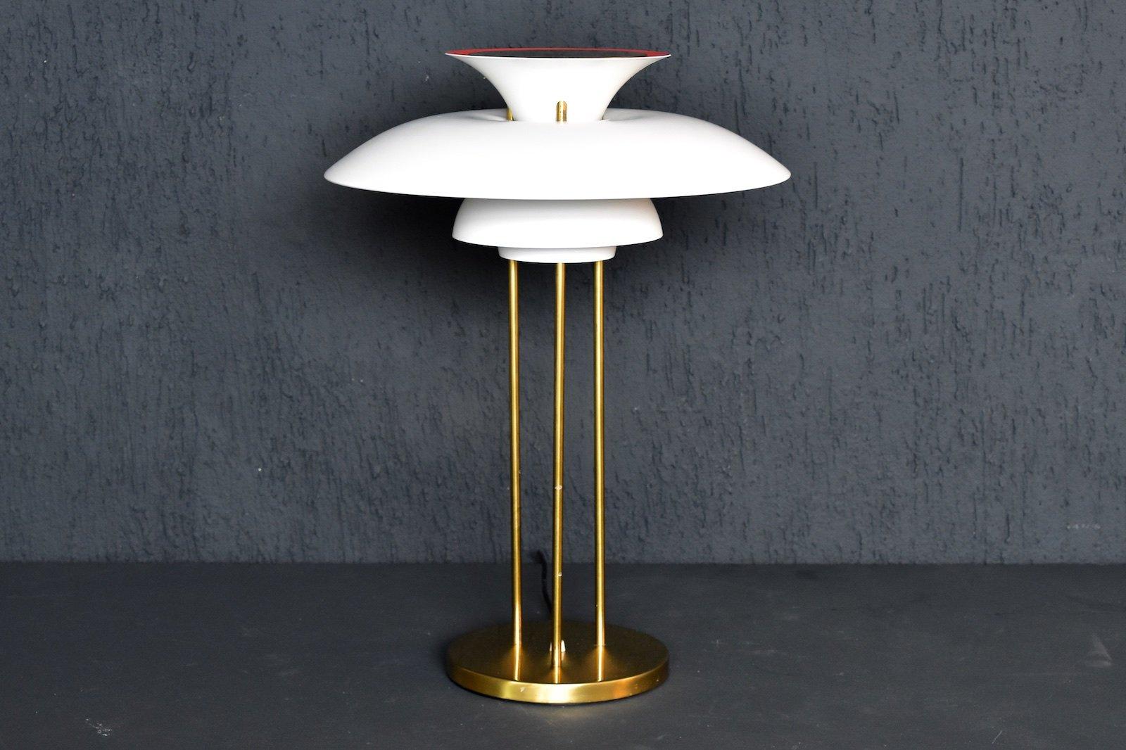 vintage danish ph5 table lamp by poul henningsen for louis poulsen for sale at pamono. Black Bedroom Furniture Sets. Home Design Ideas
