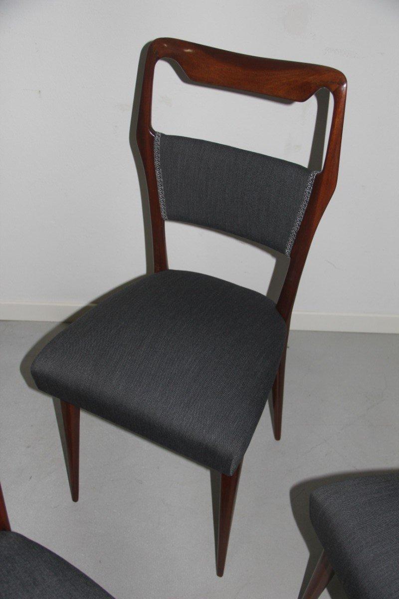 italienische mid century st hle 1950er 6er set bei pamono kaufen. Black Bedroom Furniture Sets. Home Design Ideas