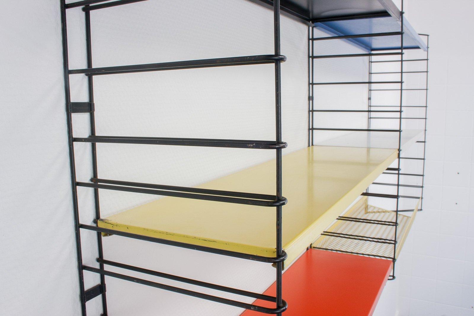 modulares vintage regalsystem von a dekker f r tomado. Black Bedroom Furniture Sets. Home Design Ideas