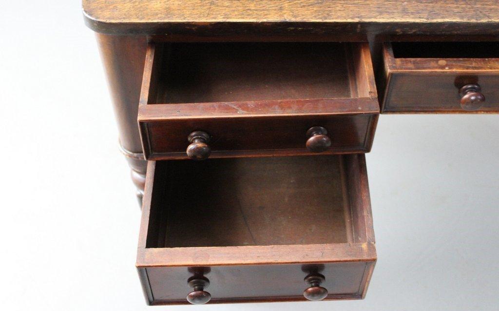 antiker viktorianischer schreibtisch bei pamono kaufen. Black Bedroom Furniture Sets. Home Design Ideas