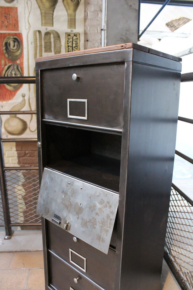 Industrial Cabinet With 5 Drawers 1960s For Sale At Pamono