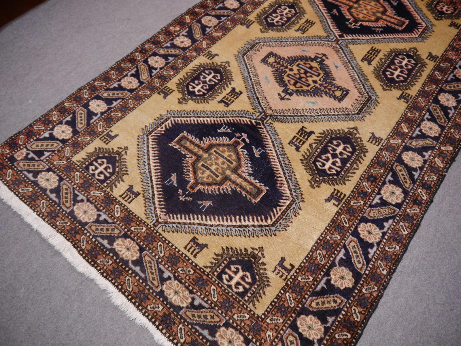 Nordwestlicher Persischer Vintage Teppich, 1950er be