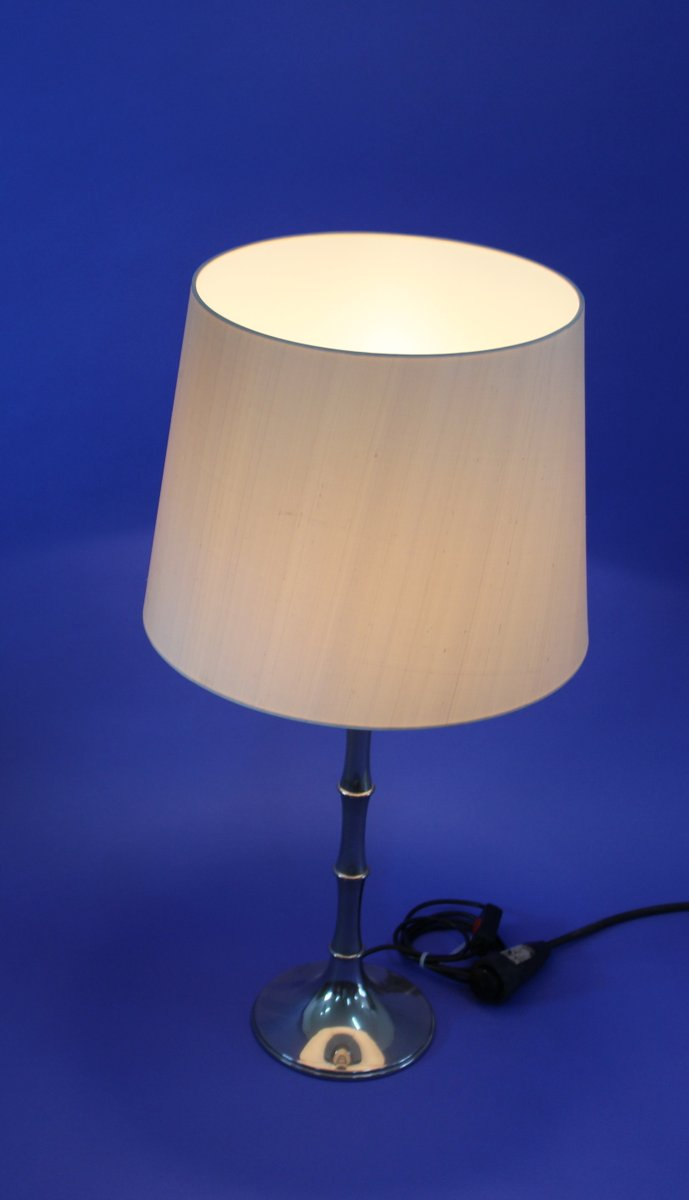 lampe de bureau vintage en bambou par ingo maurer pour design m en vente sur pamono. Black Bedroom Furniture Sets. Home Design Ideas