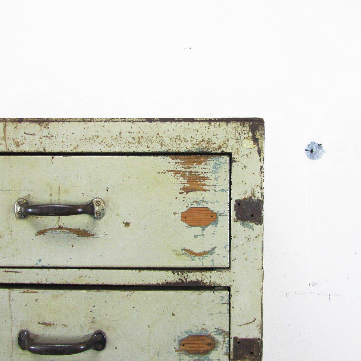 Kommode schmal vintage  Französische Vintage Kommode mit Fünf Schubladen bei Pamono kaufen