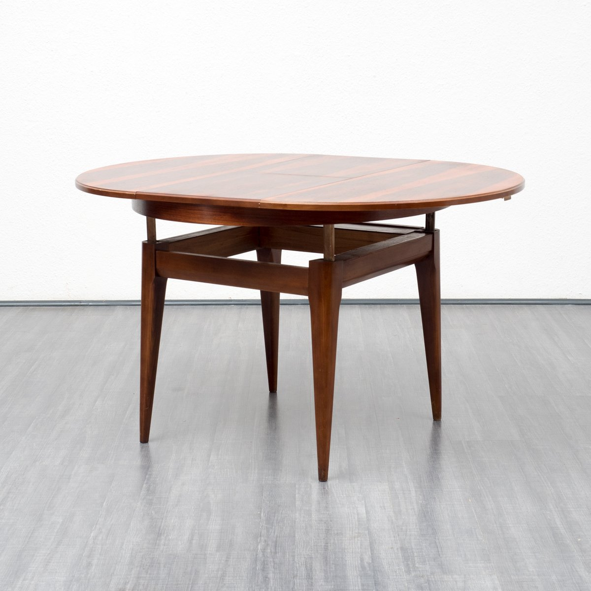 rosewood dining table with fold out top 1960s for sale at pamono. Black Bedroom Furniture Sets. Home Design Ideas