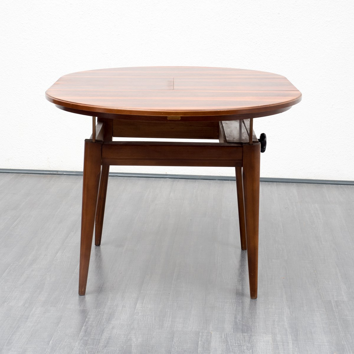 rosewood dining table with fold out top 1960s for sale at pamono