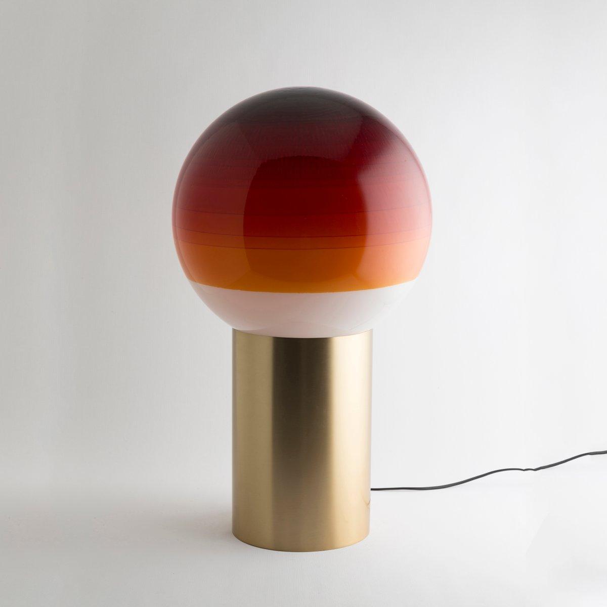 Extra Large Amber Dipping Light by Jordi Canudas, 2017