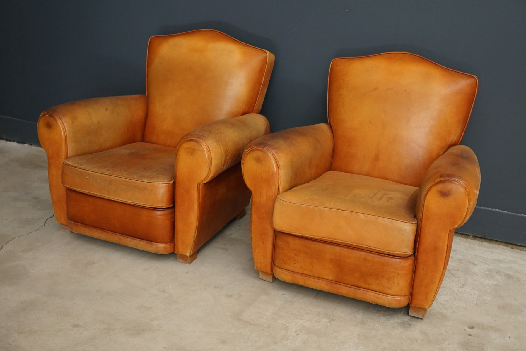 antique leather club chairs vintage leather club chairs 1950s set of 2 for 4106