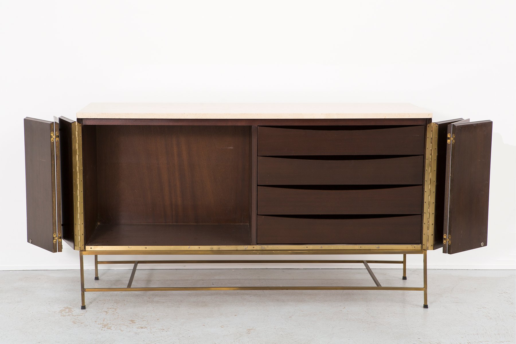 Irwin collection credenza by paul mccobb for calvin 1950s for 1950 s credenza