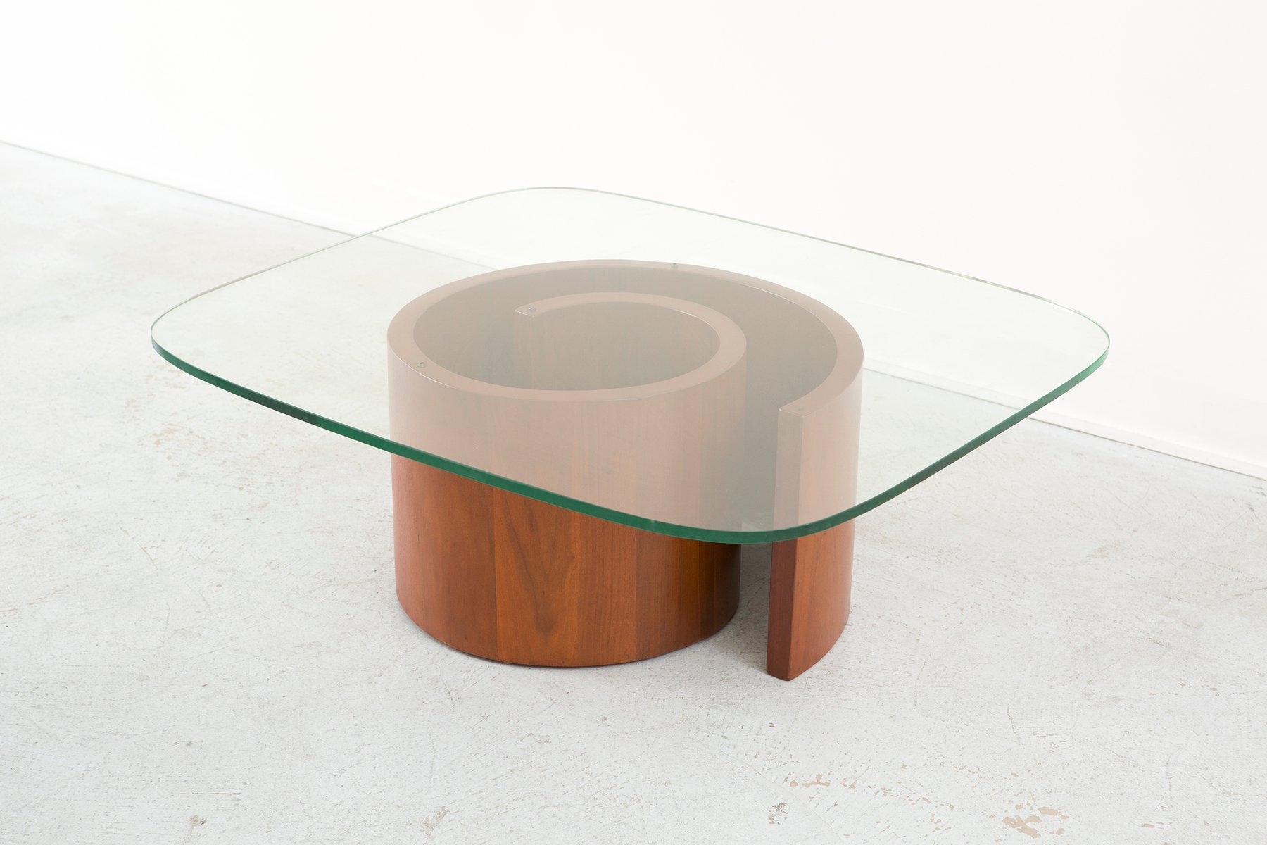 Snail Coffee Table By Vladimir Kagan For Selig 1950s For Sale At Pamono