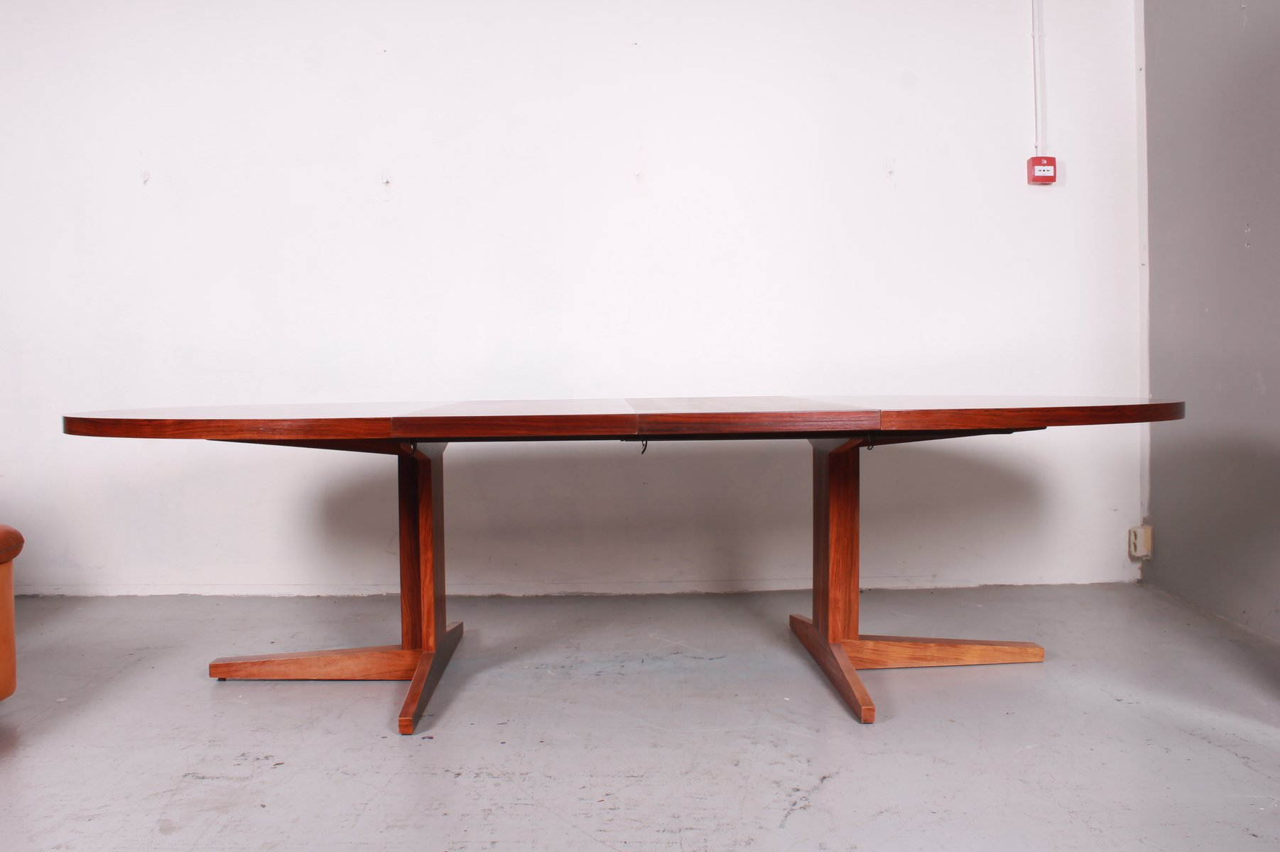 Vintage extensible dining table from dyrlund for sale at for Table extensible axiome
