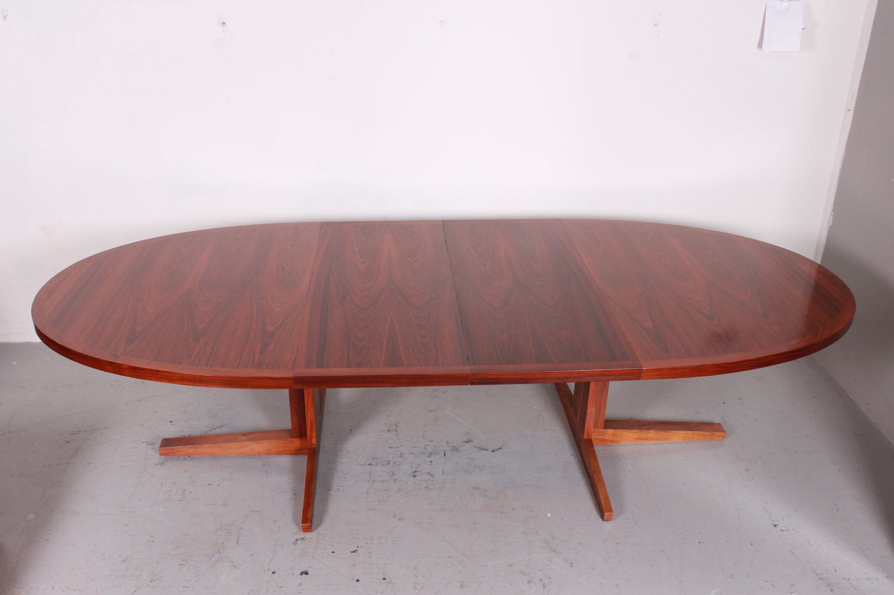Vintage extensible dining table from dyrlund for sale at for Table extensible 3 suisses