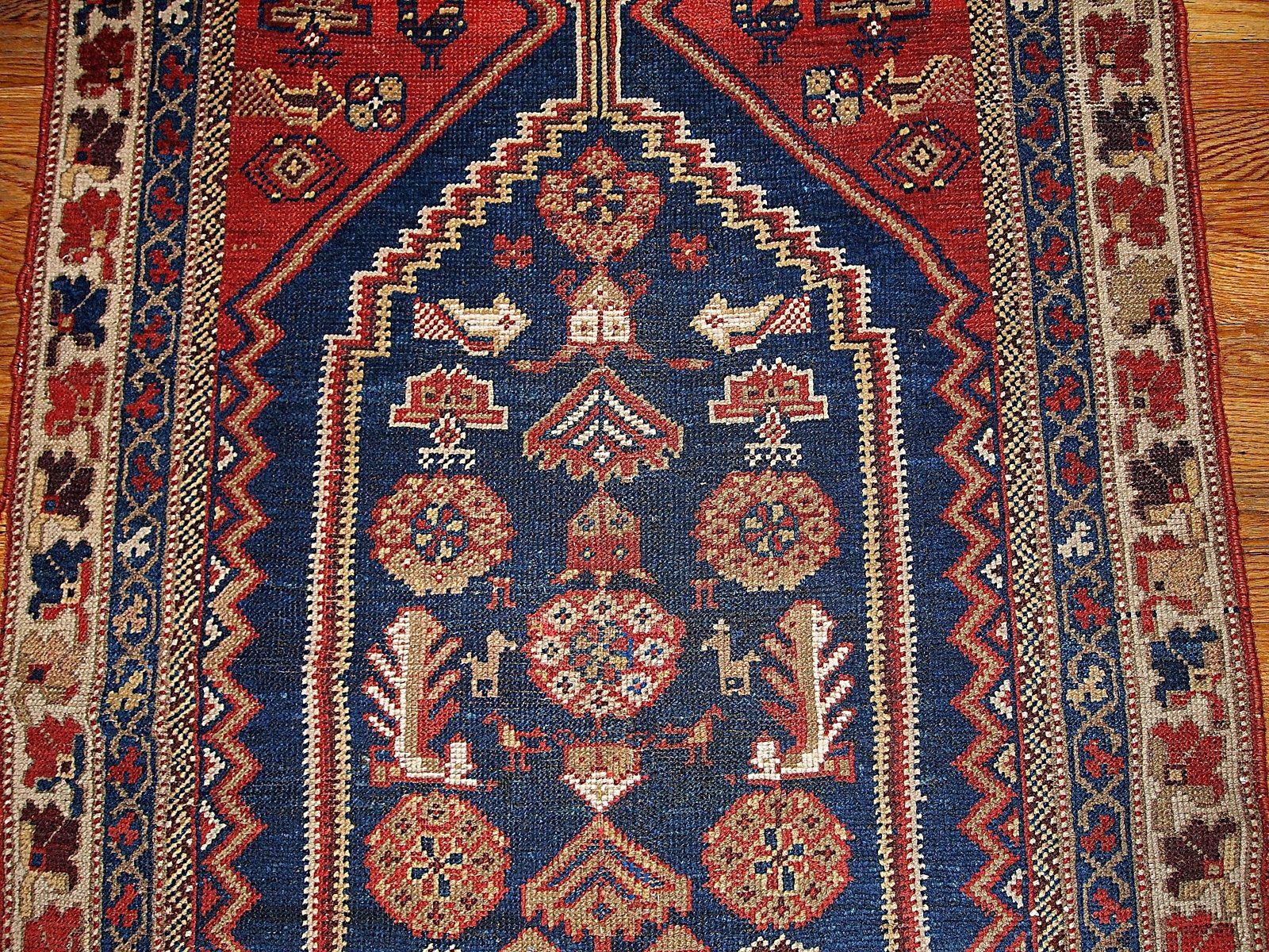 tapis shiraz antique fait main iran 1920s en vente sur. Black Bedroom Furniture Sets. Home Design Ideas