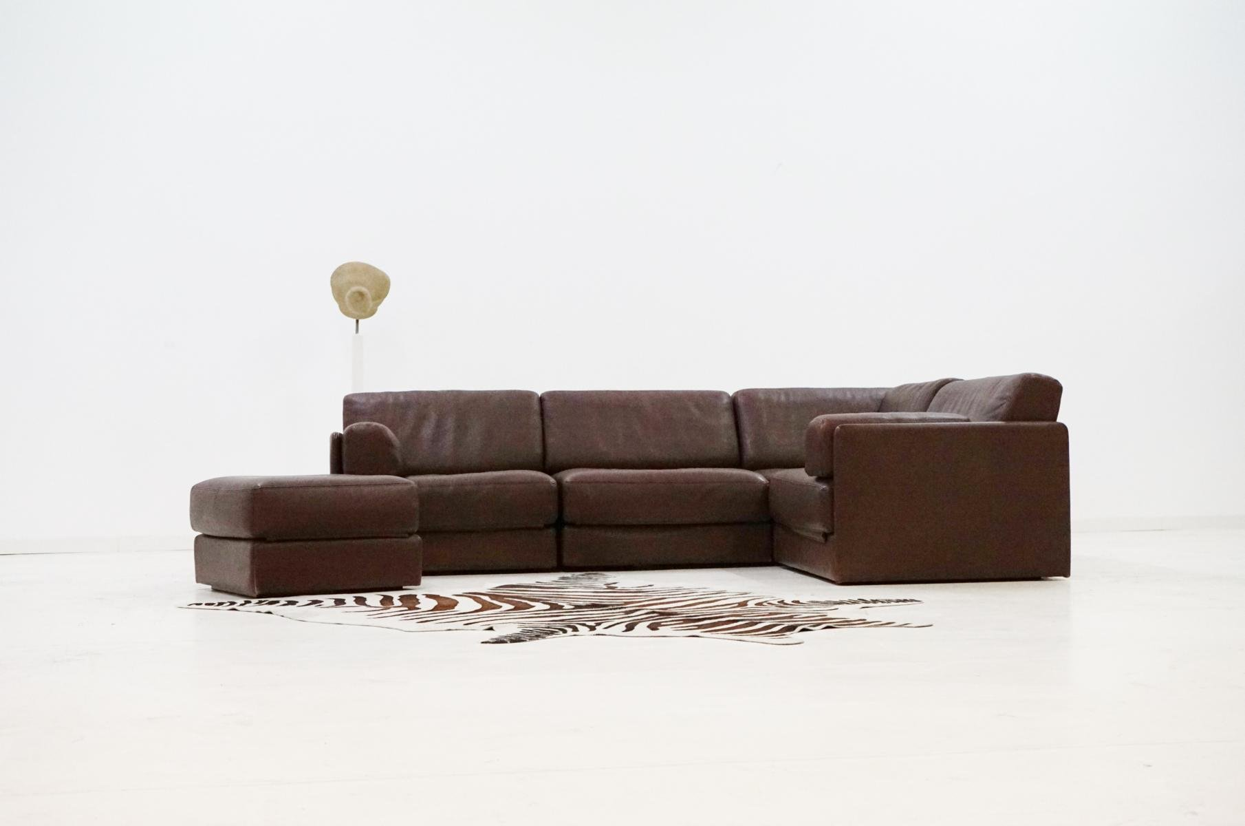 Vintage Ds 76 Leather Modular Sofa From De Sede For Sale At Pamono