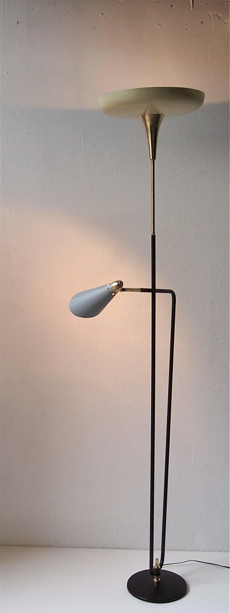 lampadaire 2 lampes de stilnovo 1950s en vente sur pamono. Black Bedroom Furniture Sets. Home Design Ideas