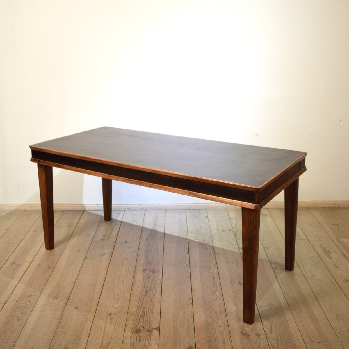 italienischer palisander esstisch 1930er bei pamono kaufen. Black Bedroom Furniture Sets. Home Design Ideas