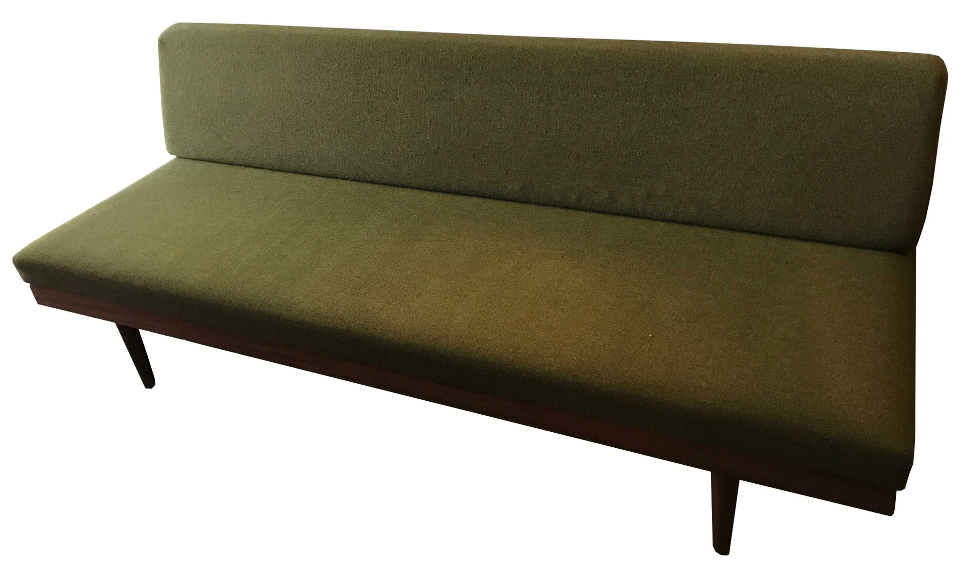 Green sofa bed 1950 for sale at pamono for Sofa bed 50s