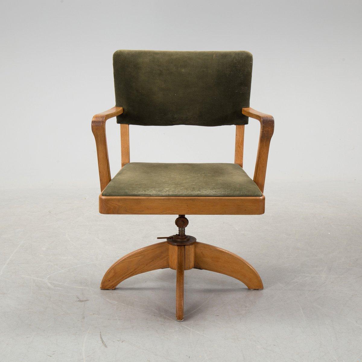 Art deco desk chairs - Swedish Art Deco Desk And Swivel Chair Set 1930s 10 7 647 00 Price Per Set