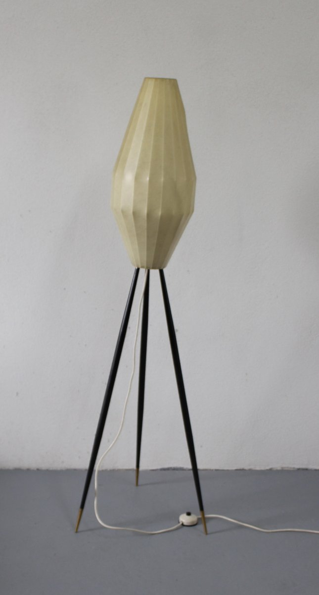 Italienische Vintage Kokon Stehlampe 1950er Bei Pamono Kaufen