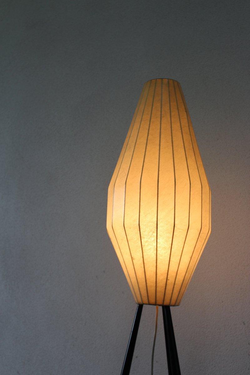 italienische vintage kokon stehlampe 1950er bei pamono kaufen. Black Bedroom Furniture Sets. Home Design Ideas