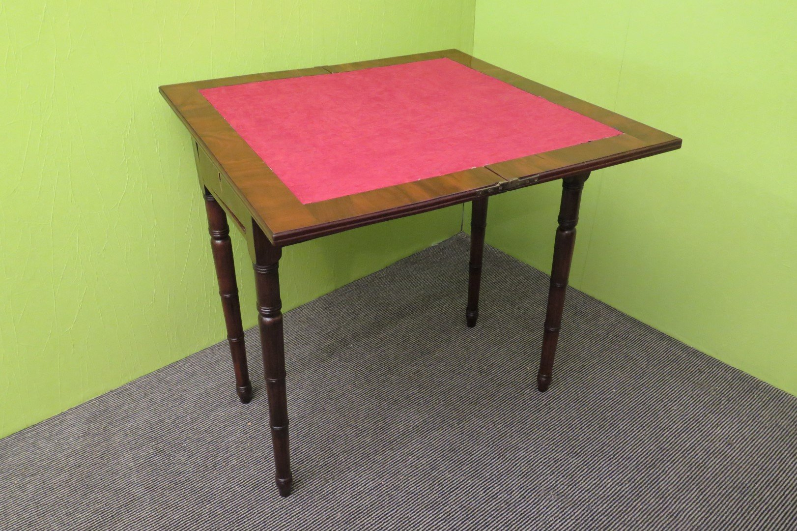 Antique Italian Card Playing Table 1850s For Sale At Pamono