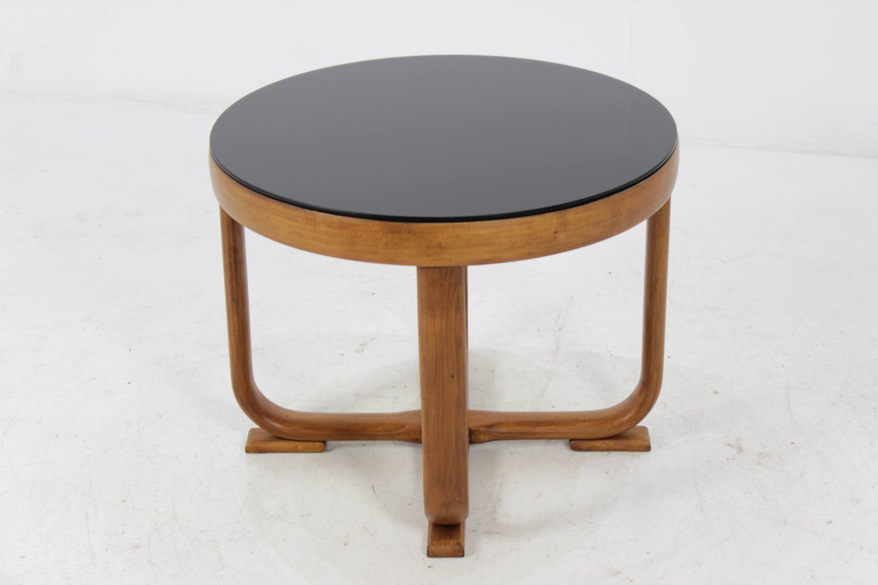 Art deco beech bentwood coffee table 1940s for sale at pamono for Beech coffee table