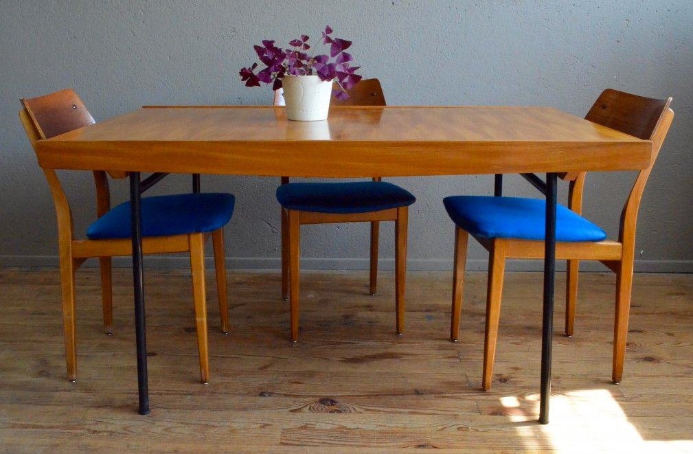 Table By Pierre Guariche For Meuble Tv 1950s For Sale At