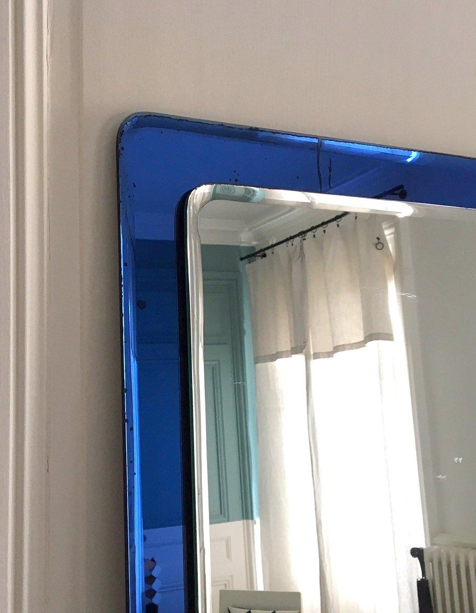 Vintage spiegel mit murano glas rahmen bei pamono kaufen for Spiegel glas