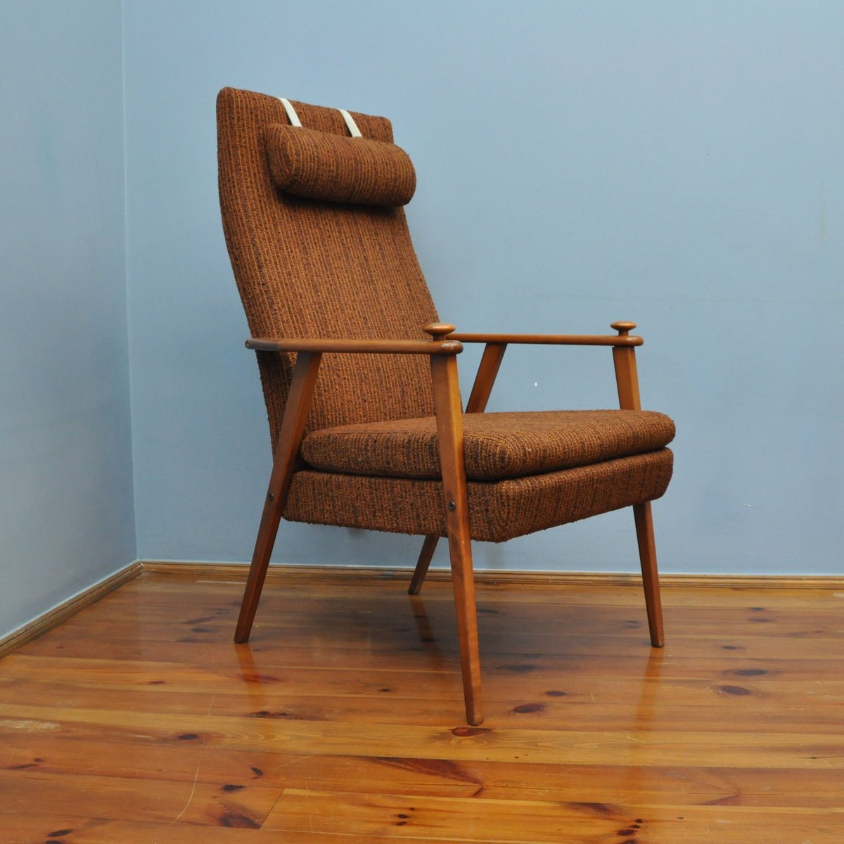 Brown Armchair Vintage Brown Armchair From Brderna Ab Johanson For Sale At Pamono