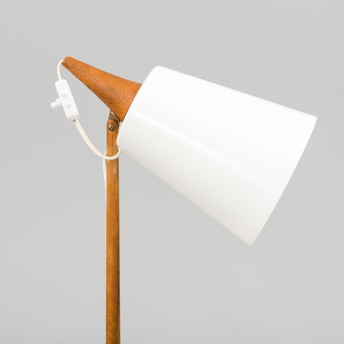 scandinavian modern floor lamp by uno & osten kristiansson for ... - Luxus Raumausstattung Shop