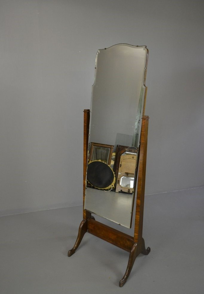 miroir de coiffeuse cheval vintage en vente sur pamono. Black Bedroom Furniture Sets. Home Design Ideas