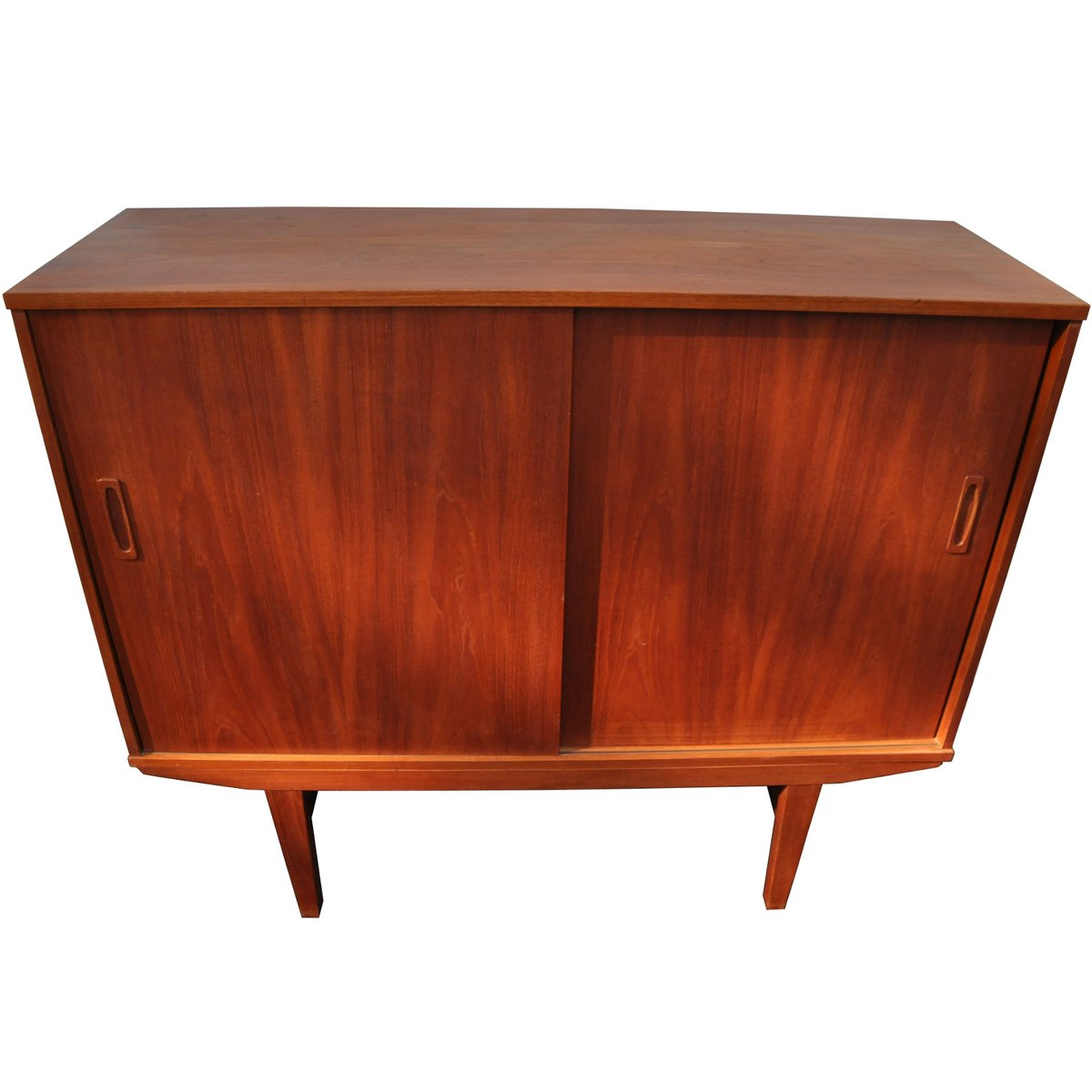 vintage danish highboard in teak 1960s for sale at pamono. Black Bedroom Furniture Sets. Home Design Ideas