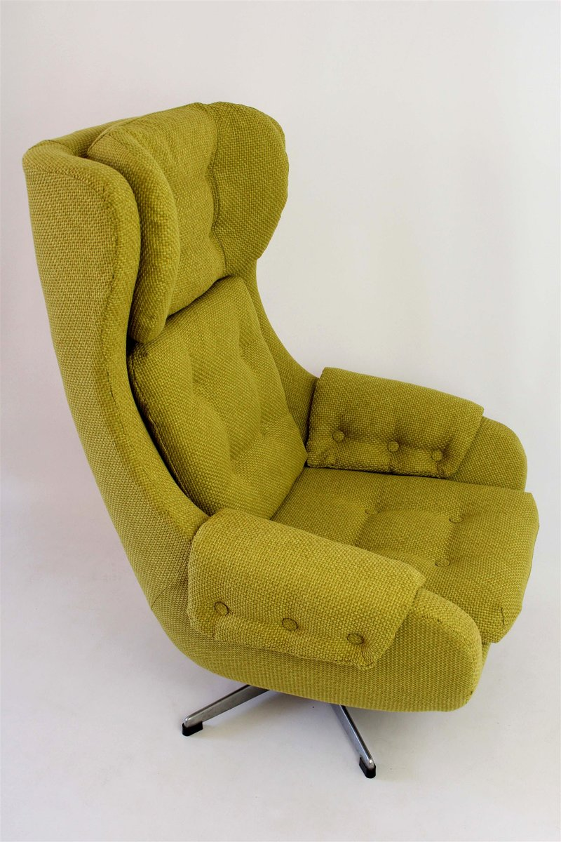 Swivel Armchair From Up Zavody Rousinov 1970s For Sale At