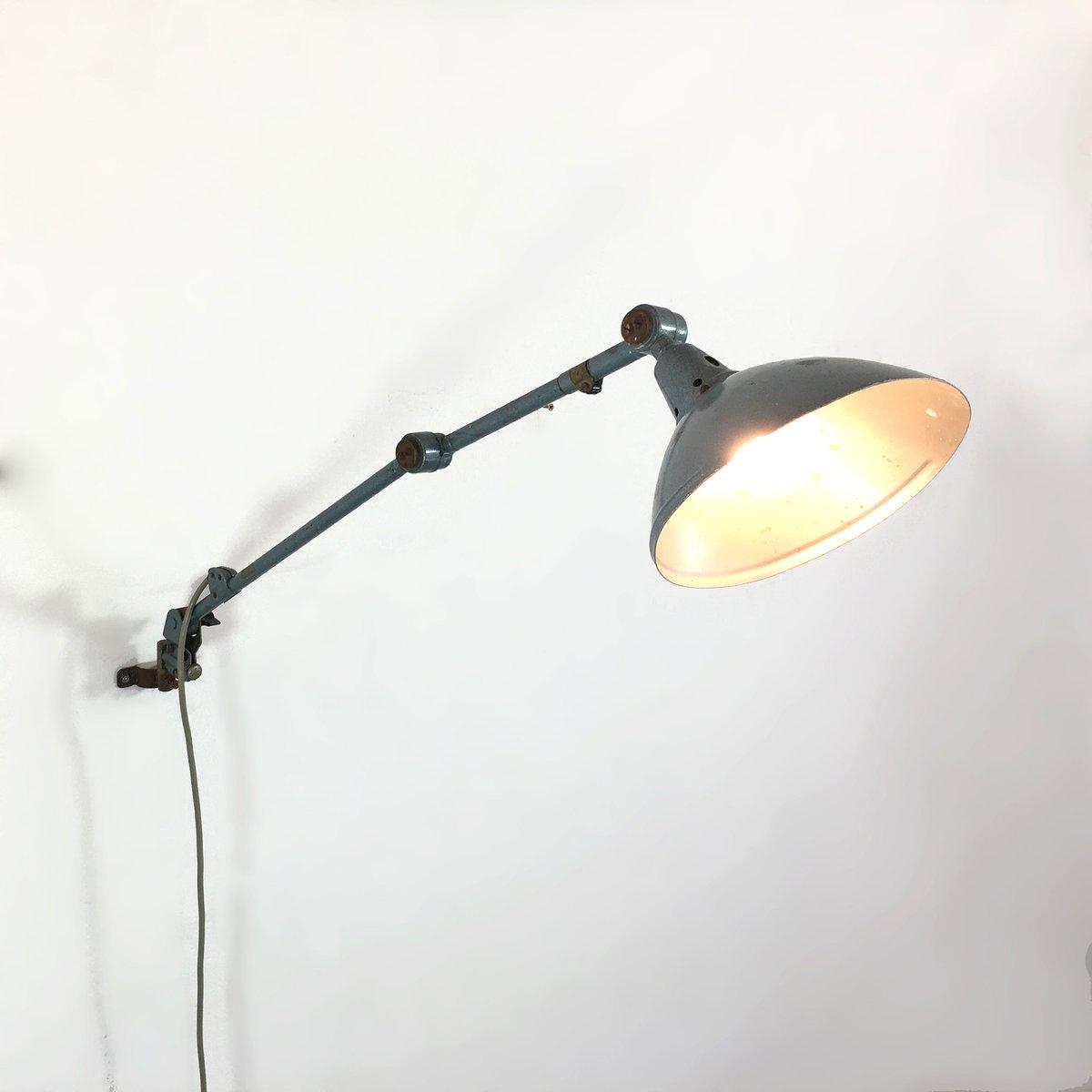 deutsche industrie lampe von curt fischer f r midgard bei pamono kaufen. Black Bedroom Furniture Sets. Home Design Ideas