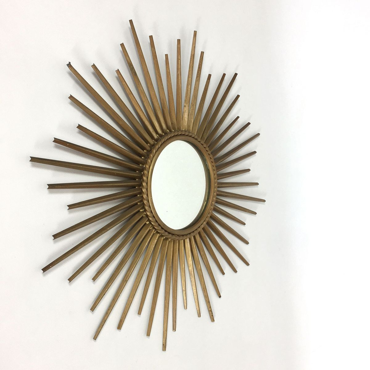 Sunburst sputnik mirror from chaty vallauris 1950s for for Chaty vallauris miroir