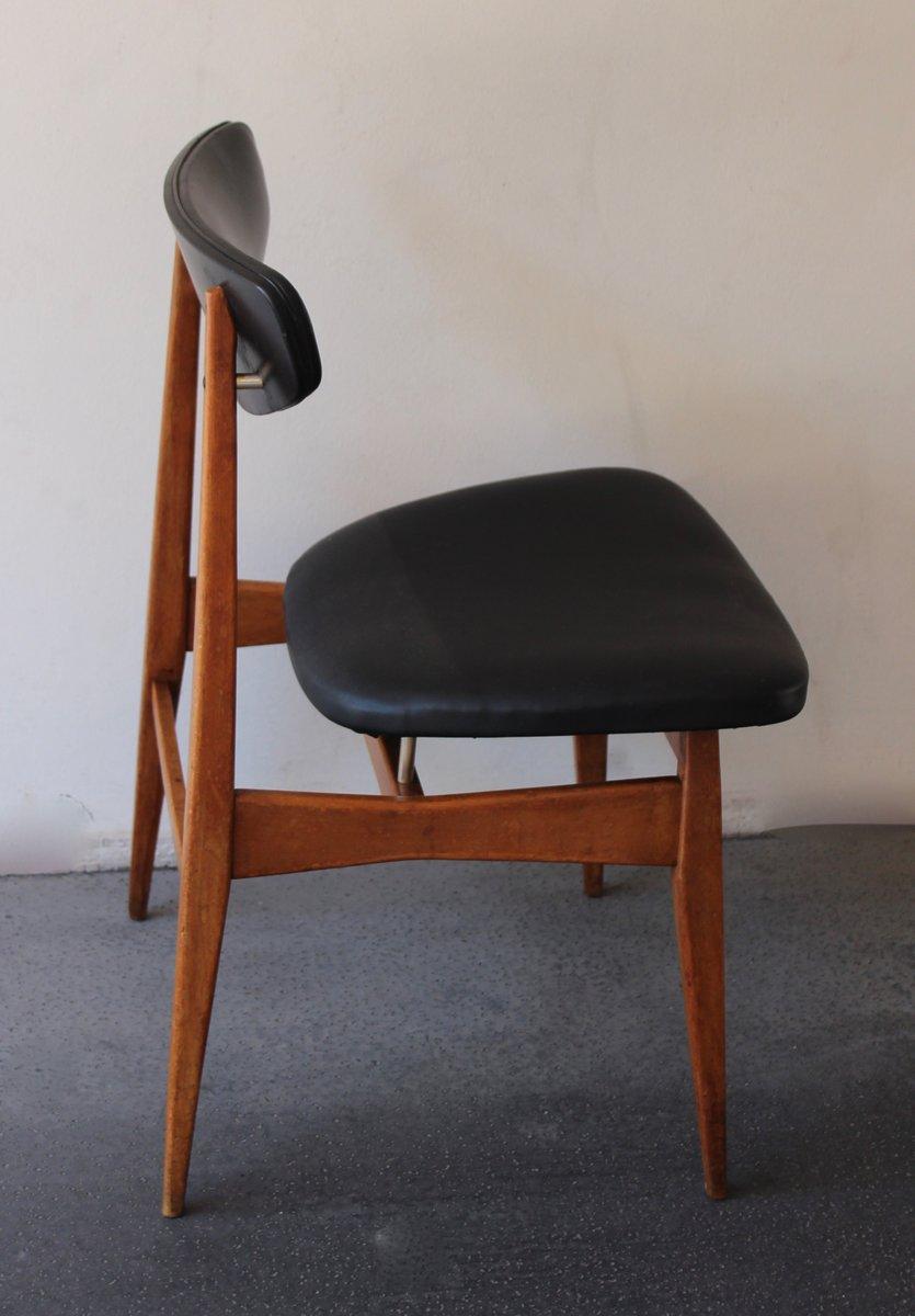 Skandinavischer stuhl in schwarz 1960er bei pamono kaufen - Skandinavischer stuhl ...