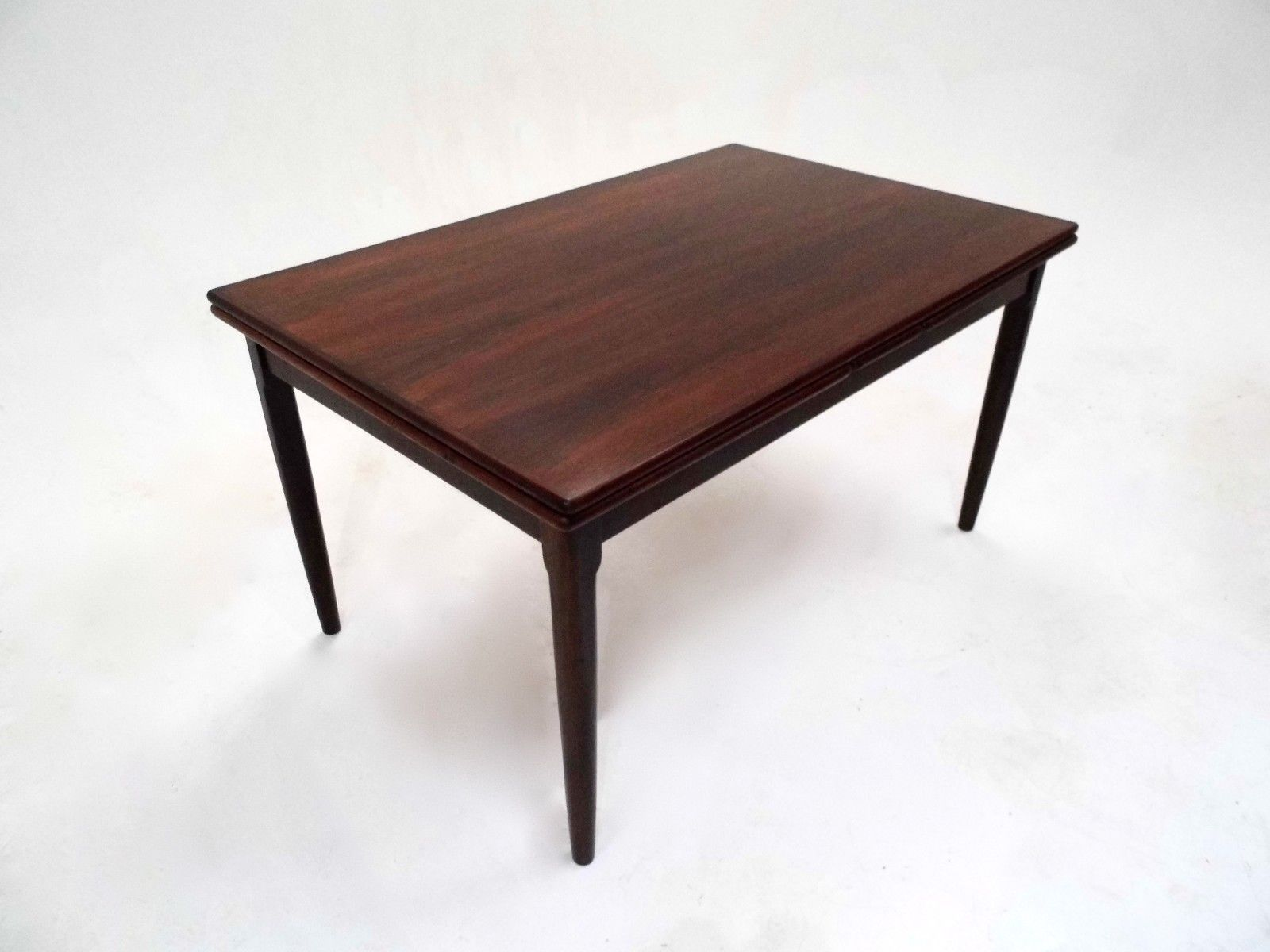 Mid Century Danish Rosewood Extendable Dining Table 1960s