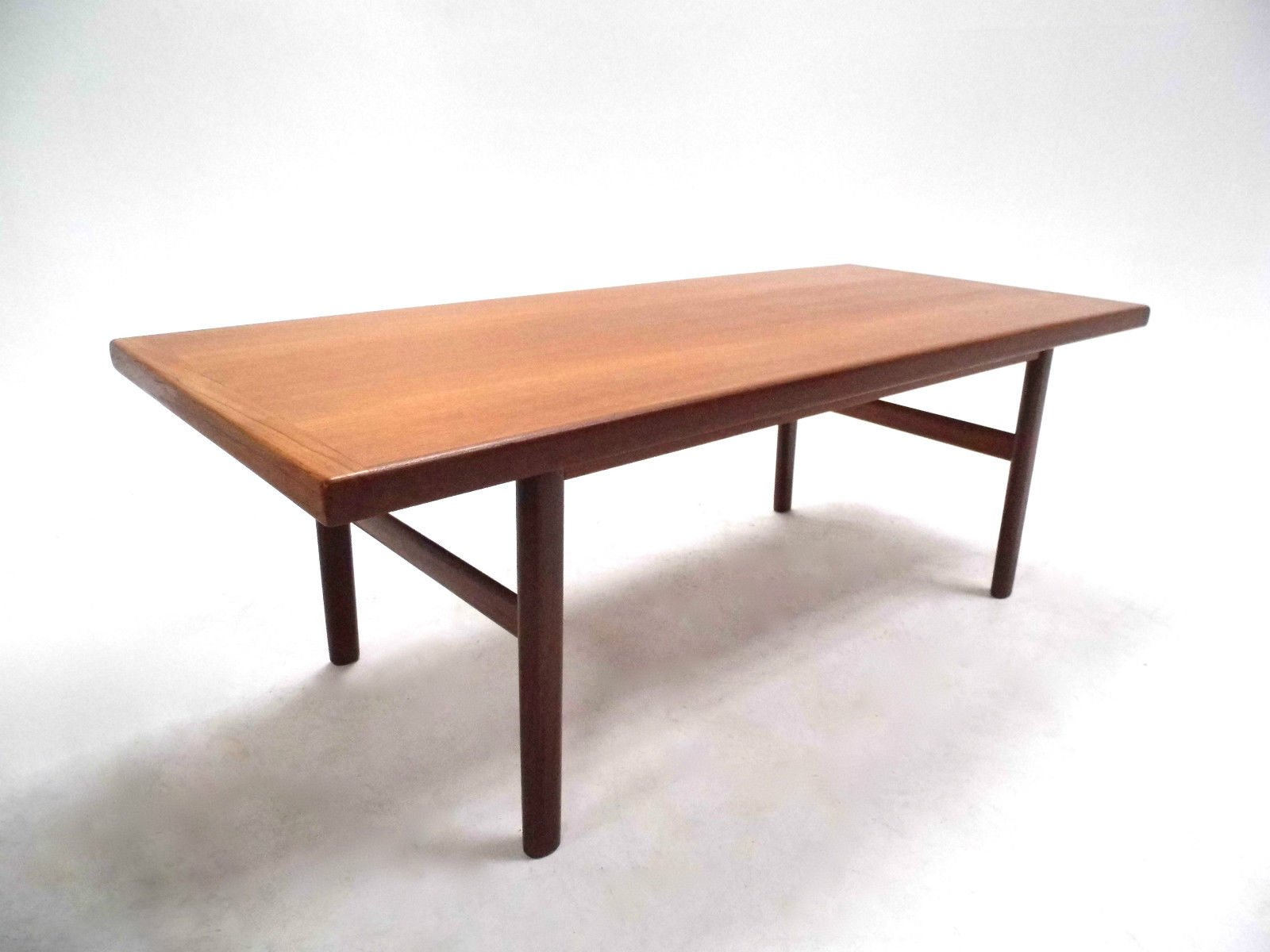 Mid Century Norwegian Teak Coffee Table for sale at Pamono