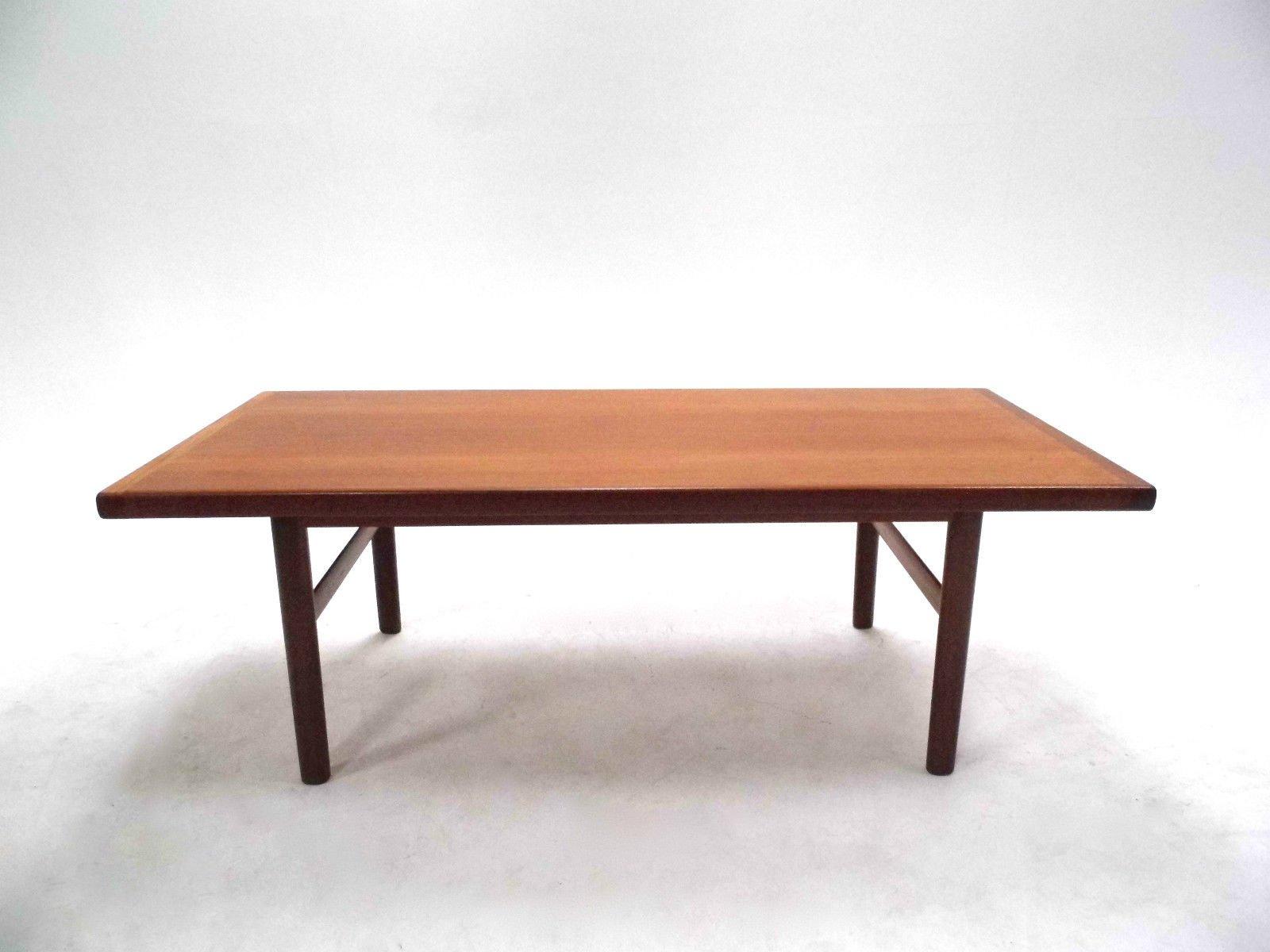 Mid Century Norwegian Teak Coffee Table
