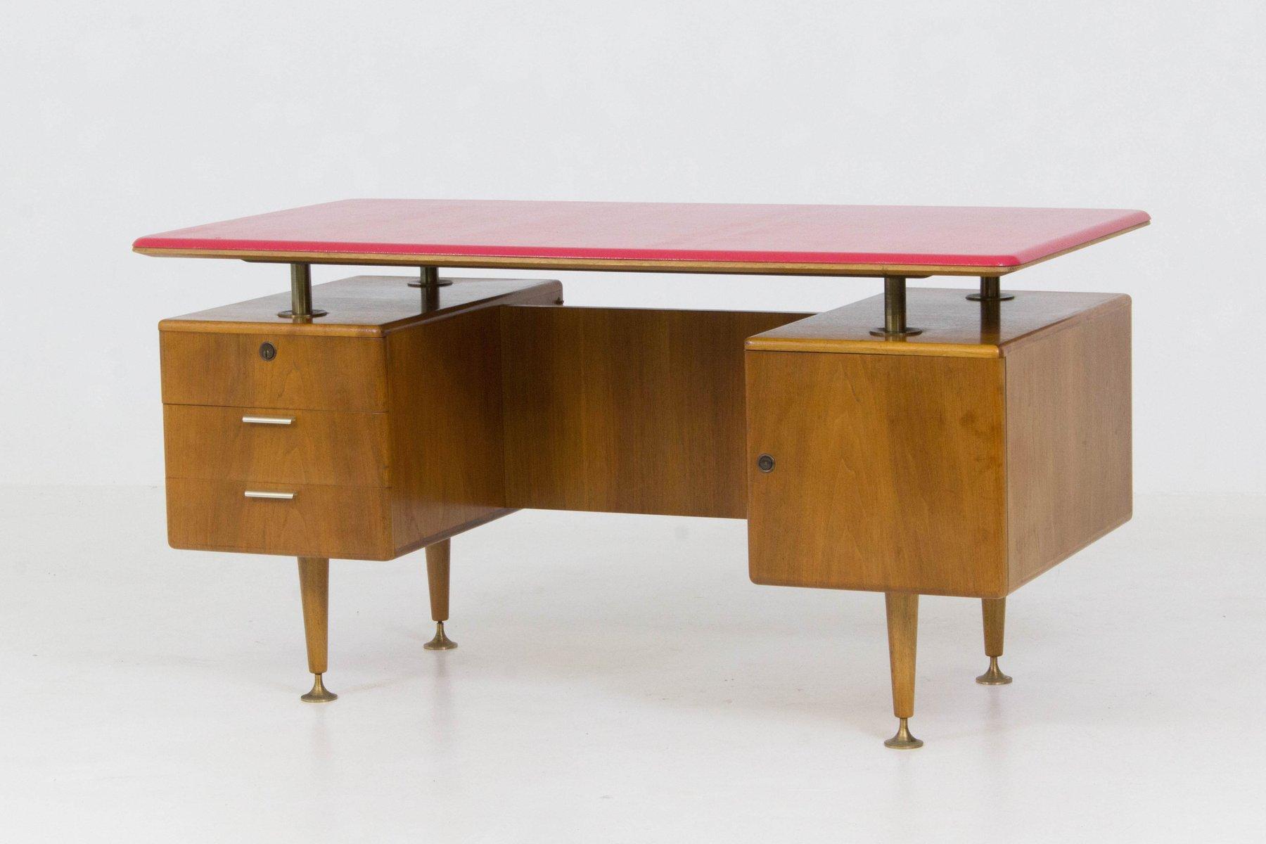 Scrivania Con Mobile : Scrivania tavolo ufficio studio presidenziale direzionale porta pc