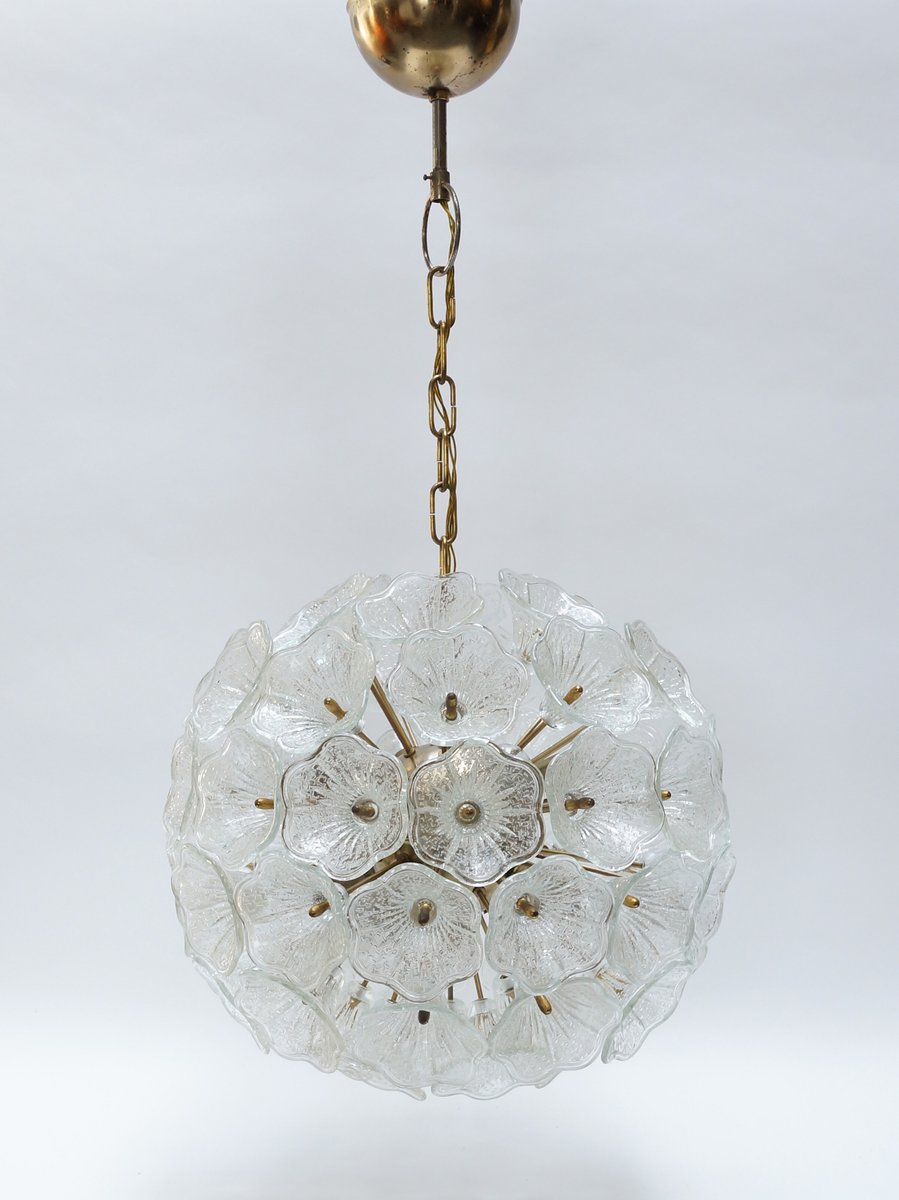 Murano glass flower chandelier from murano 1960s for sale at pamono aloadofball Image collections