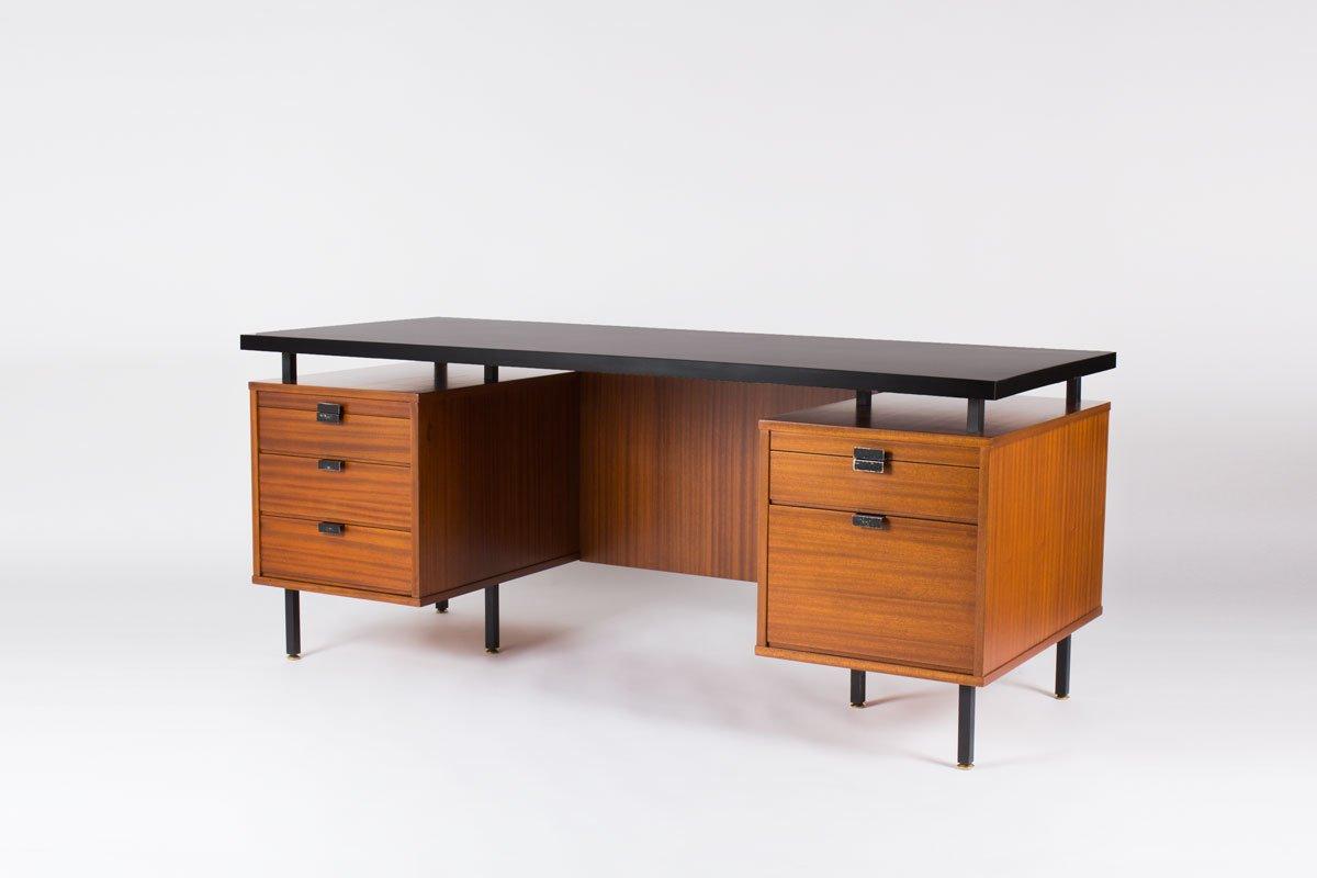 gro er schreibtisch von jacques hitier f r charron 1950er. Black Bedroom Furniture Sets. Home Design Ideas