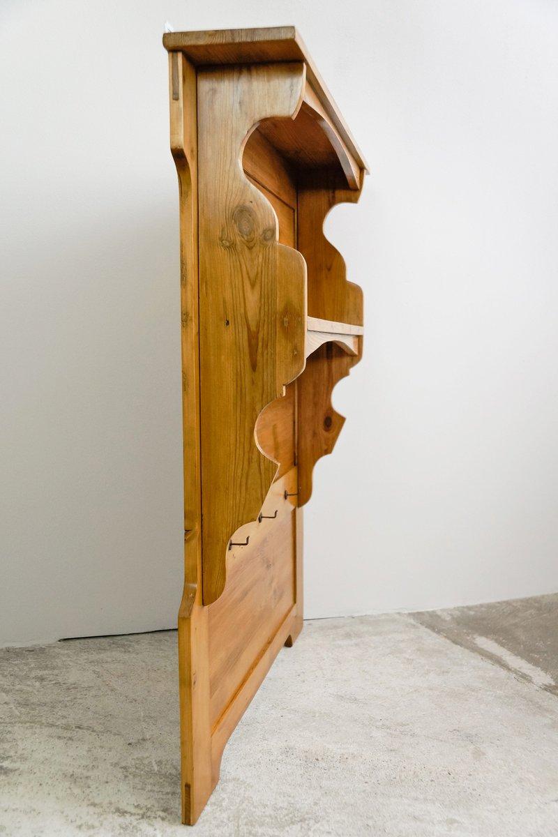 antikes deutsches k chen wandregal bei pamono kaufen. Black Bedroom Furniture Sets. Home Design Ideas