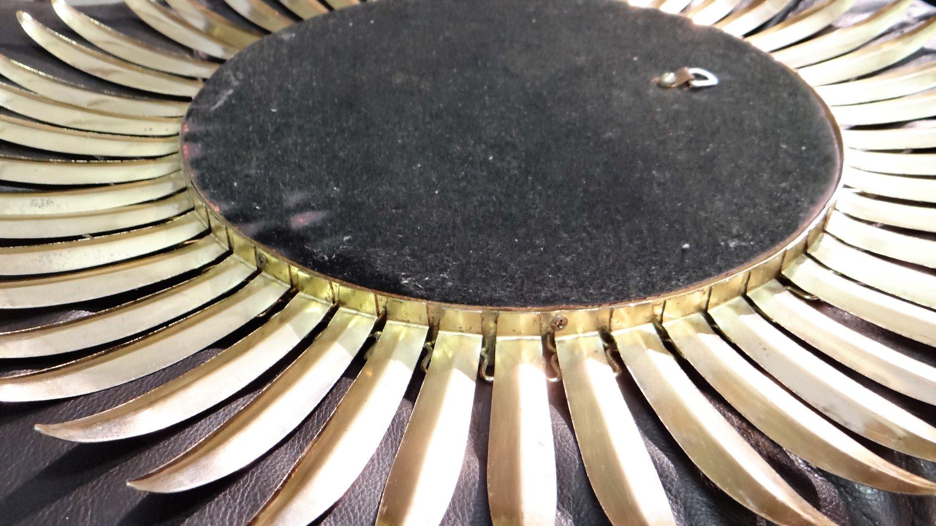 Miroir convexe vintage dor en laiton en vente sur pamono for Miroir convexe achat