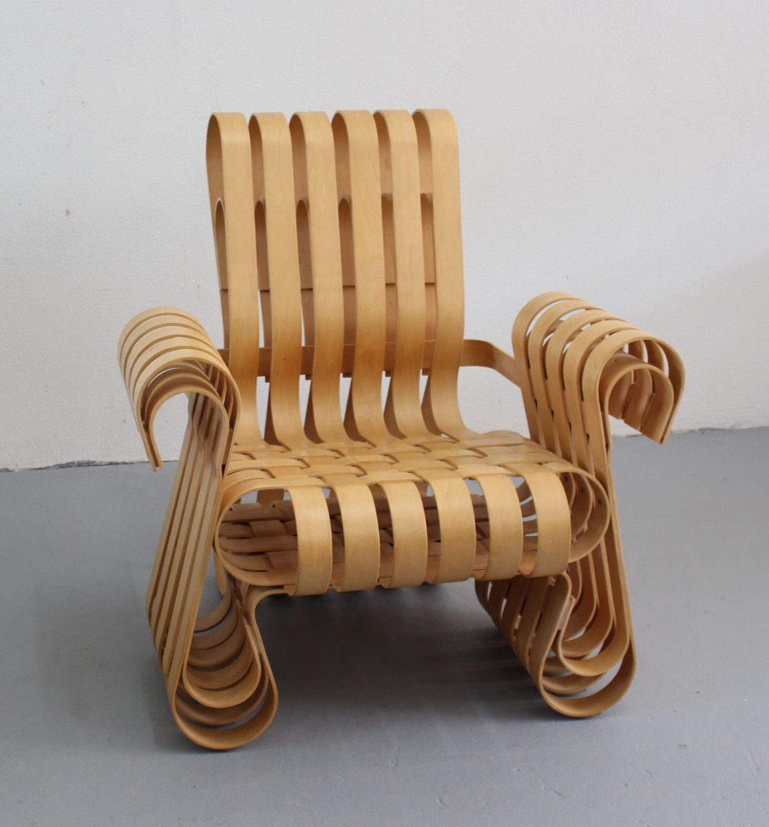 Power Play Chair By Frank O Gehry For Knoll International