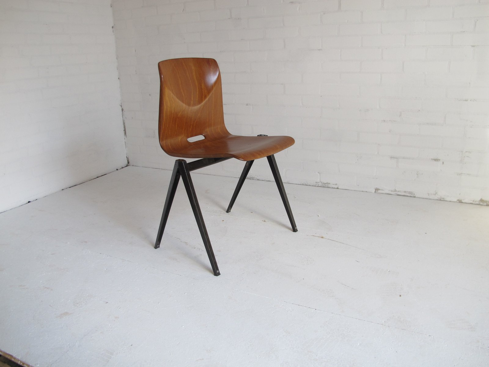 Industrial leather dining chair - Price Per Set