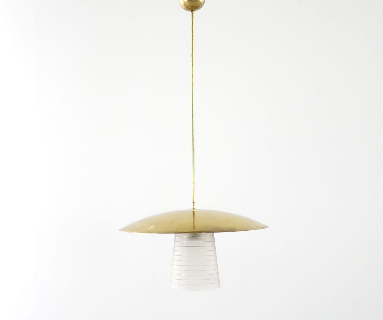 Messing deckenlampe 1920er bei pamono kaufen for Deckenlampe messing