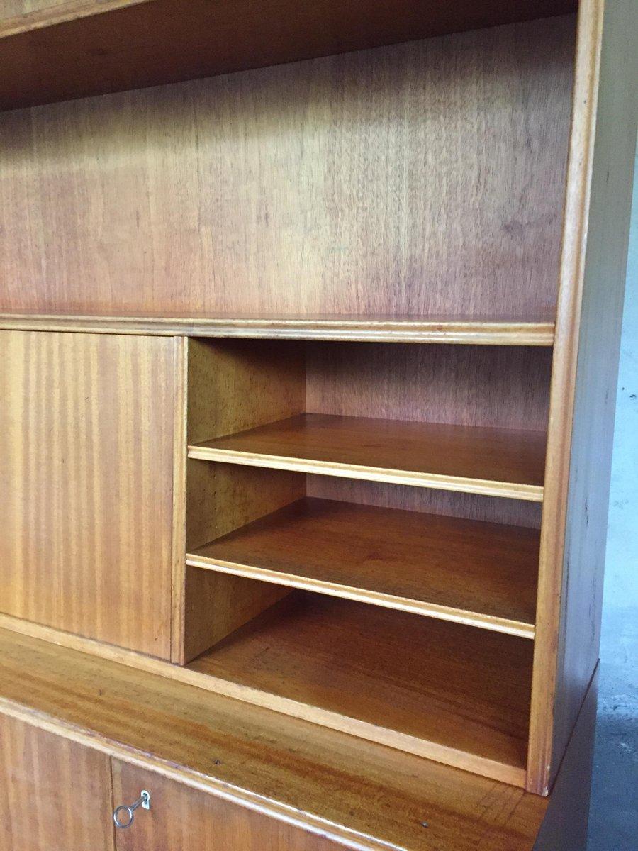 schwedisches vintage b cherregal mit sekret r bei pamono kaufen. Black Bedroom Furniture Sets. Home Design Ideas