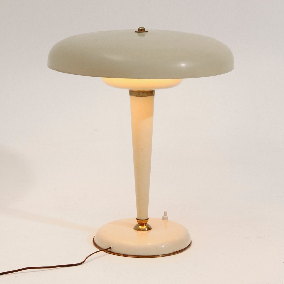 art deco tischlampe 1940er bei pamono kaufen. Black Bedroom Furniture Sets. Home Design Ideas