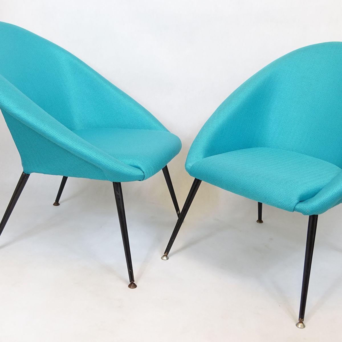 polnische eva klubsessel 1960er 2er set bei pamono kaufen. Black Bedroom Furniture Sets. Home Design Ideas